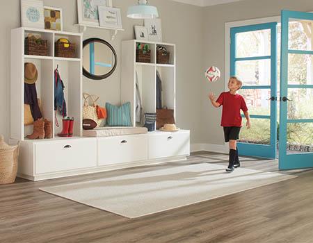 Save on waterproof flooring this month!  Luxury vinyl on sale!